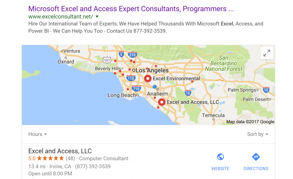 excel-consultant-google-map