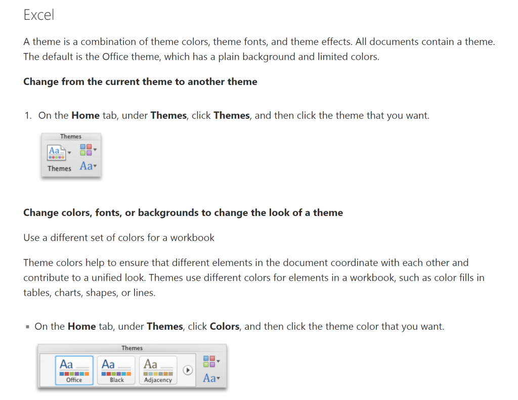 applying a theme in mac excel 2011 super excel hint excel hints